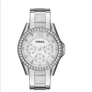 Fossil Women's Riley Stainless Steel Watch